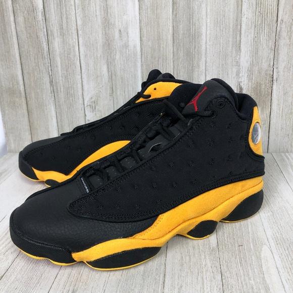 297cce11ba9 Air Jordan 13 Retro Men s Black University Red